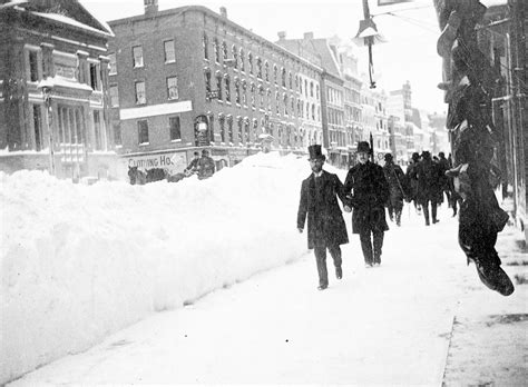 The Great Blizzard Of 1888 | a buried city the blizzard of 1888 my inwood