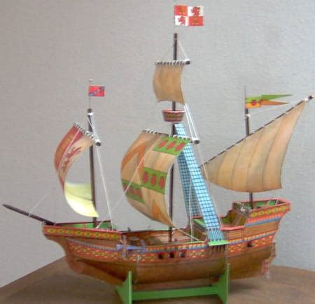 Papercraft Pirate Ship - papercraftsquare new paper craft sailing