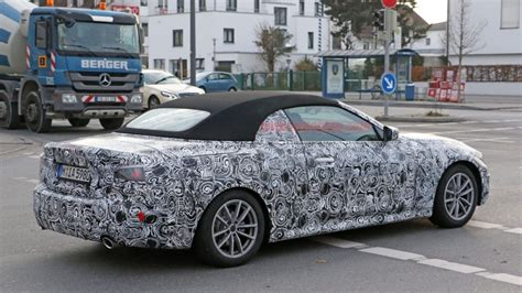 bmw  series convertible spy shots revealed