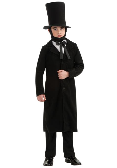abraham lincoln costume for child child abe lincoln costume abraham lincoln costumes for