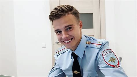 10yo boy man 23 year old russian policeman makes waves on instagram