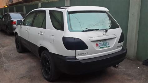 pimped lexus rx 350 sold lexus rx 300 pimped 990k sold autos nigeria