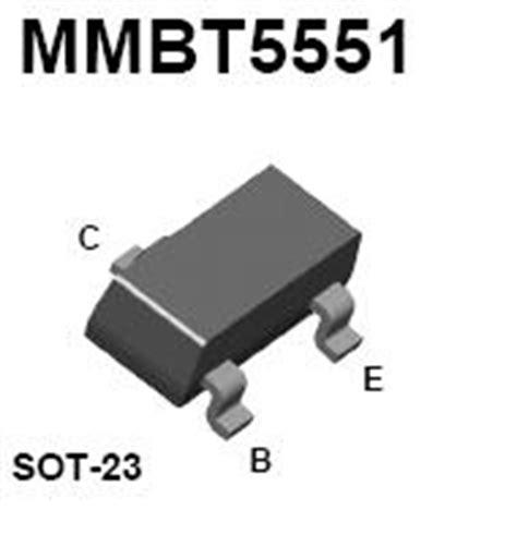 high voltage smd transistor mmbt5551 smt npn high voltage transistor nightfire