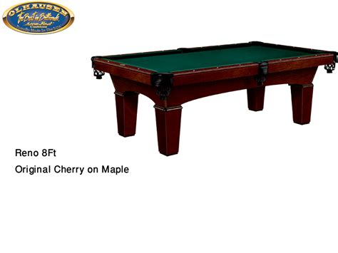 olhausen reno pool table olhausen billiard table reno original cherry