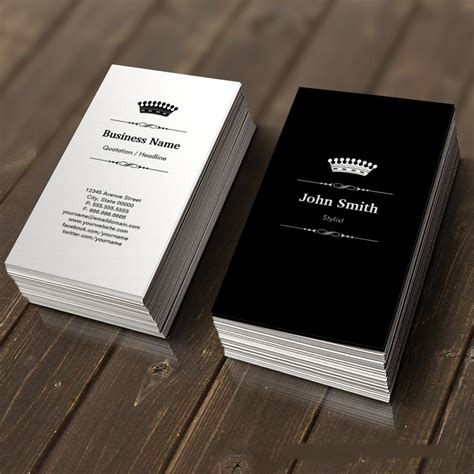 The Royal Store Business Card Template by Creative Business Cards Royal Business Card Design