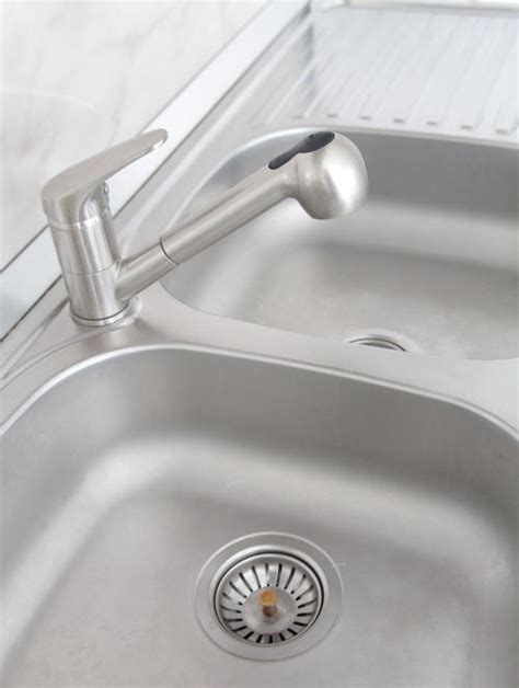 Stainless Steel Sink Cleaning Tutorial Diyideacenter Com Best Way To Clean Stainless Steel Kitchen Sink