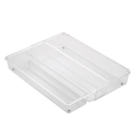 Acrylic Drawer Divider by Buy Interdesign 174 Linus Acrylic Adjustable Drawer Divider