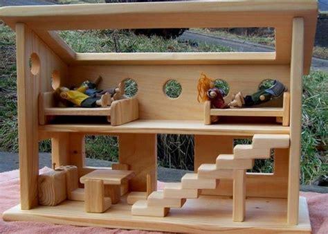 Puppenh User Aus Holz 2385 by Puppenhaus Spielzeug Und Kunstwerk Archzine Net