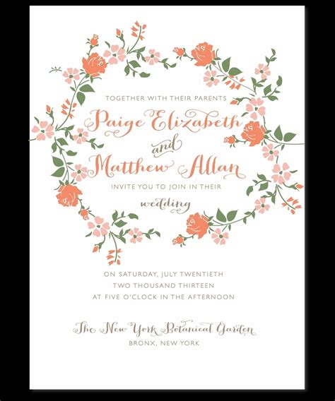 our wedding invitation brilliant marriage invitation sle wedding invitation