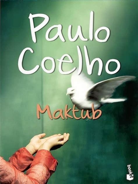 libro maktub ciudad de libros maktub autor paulo coelho