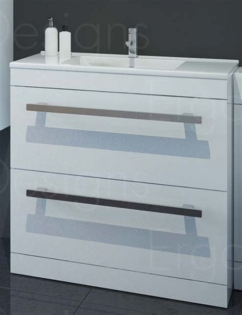 Savanna White 800mm Floor Standing Basin Vanity Unit   eBay