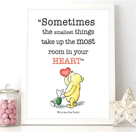 printable pooh quotes printable winnie the pooh quote sometimes the smallest