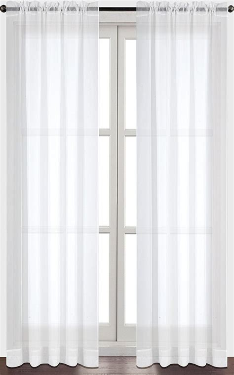 sewing voile curtains 1000 ideas about white sheer curtains on pinterest