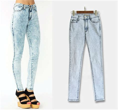 skinny jeans in or oyt in 2015 2015 acid wash skinny jeans women plus size high waist