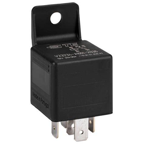 te connectivity tyco electronics 12 vdc 5 pin relay spdt