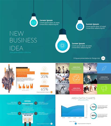18 Professional Powerpoint Templates For Better Business Presentations Powerpoint Template For Photo Slideshow
