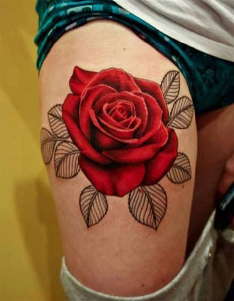 rose tattoo for women 30 awesome designs for