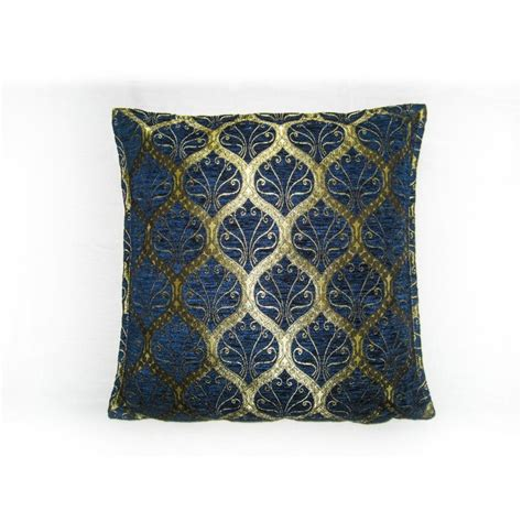 cusion covers ottoman blue cushion cover