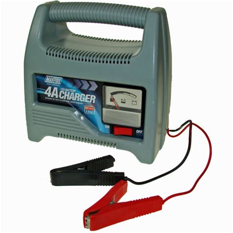 maypole 12v 4 car battery charger maypole from