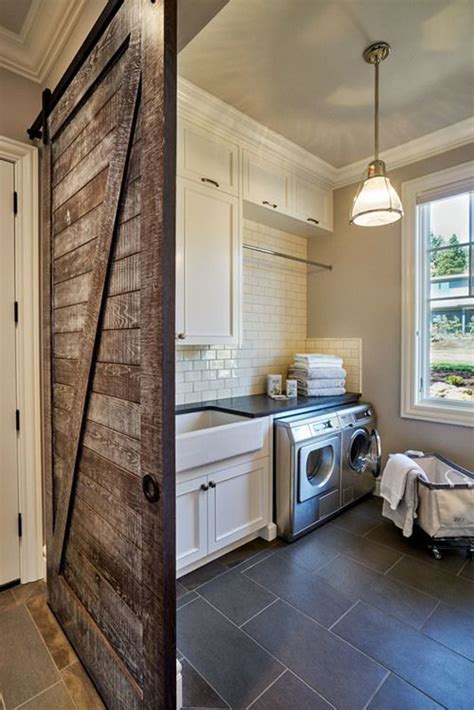10 Most Awesome Laundry Room With Rustic Touches Home Rustic Laundry Room Decor