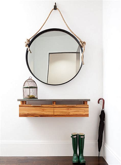 entry way mirror 10 small entryway designs with larger than life appeal