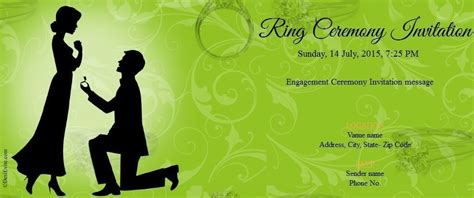 ring ceremony invitation card template free engagement free invitation orderecigsjuice info