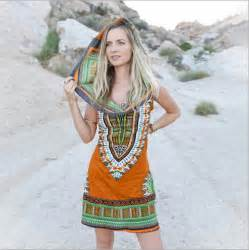 Tribal Boho Oby Dress 1 luck boho tribal hooded tunic dress traditional print dashiki dresses
