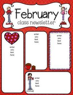 february newsletter template 1000 images about newsletters on newsletter