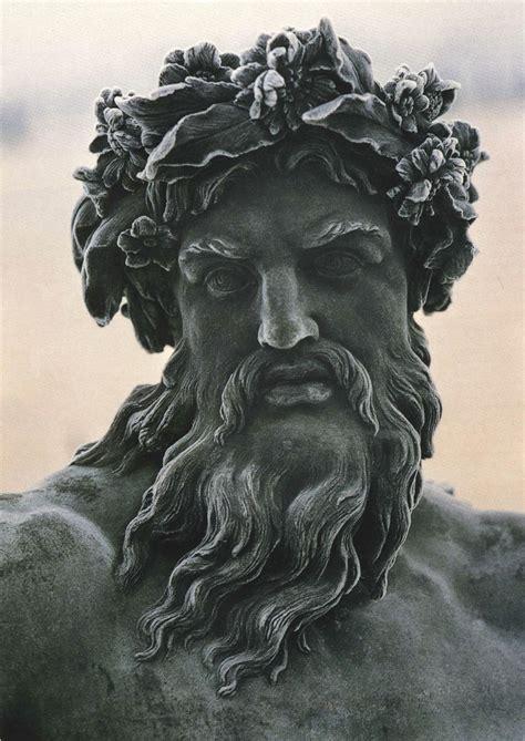 greek god statue zeus rey de los dioses el gobernante del monte olimpo y