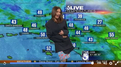 Weather Wardrobe by Meteorologist Suffers Hilarious Wardrobe