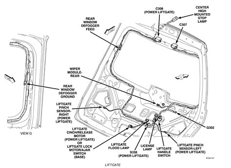 2007 chrysler pacifica backup wiring diagram 2007