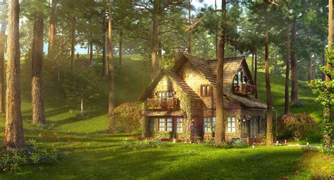 Cottage Forest by Fairytale Bg On Fairytale Tales And Forests
