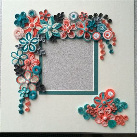 paper quilling photo frame tutorial 73 best images about my quilled frames on pinterest