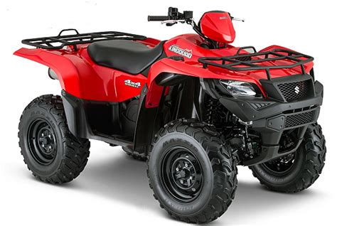 Suzuki Atv 2015 Suzuki King Atv Models Released Atvconnection