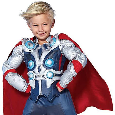 thor toddler boy s costume disney store the deluxe thor costume for boys toddlers nwt ebay