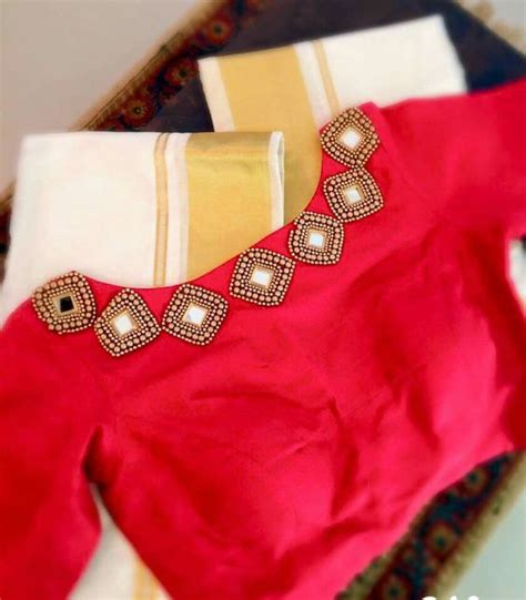 boat neck for saree blouse latest party wear blouse designs trending designer party