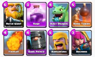 arena deck clash royale decks building guide best arena 4 to 11