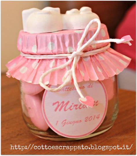 Baby Shower Bomboniere by Cotto E Scrappato Le Bomboniere Battesimo Di Miriam