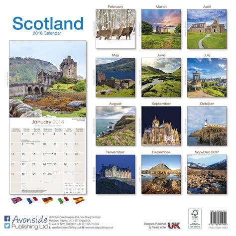 Calendar 2018 Scotland Scotland Calendar 2018 30253 18 Travel Places Scenery