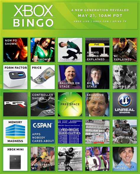 Bingo Xox next xbox reveal set for may 21 10 00 a m pst