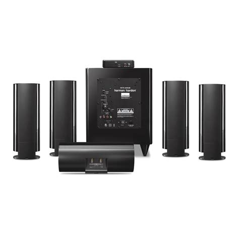 Speaker Gmc Home Theater hkts 65 a 5 1 channel home theater speaker system with wireless subwoofer