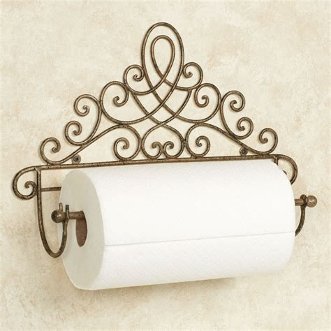 bathroom wall towel holder cassoria antique gold wall mount paper towel holder