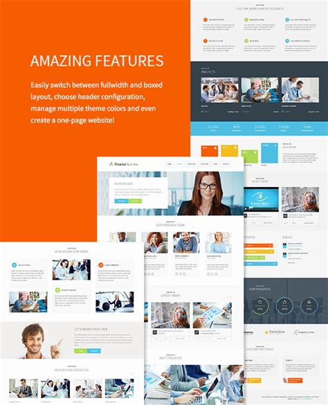 themeforest office finance business company office corporate theme by
