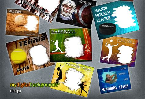 17 sports psd templates for photographers images free