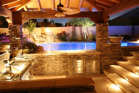 Tuscan Kitchen Design by Outdoor Kitchens And Custom Barbecues Outdoor Living
