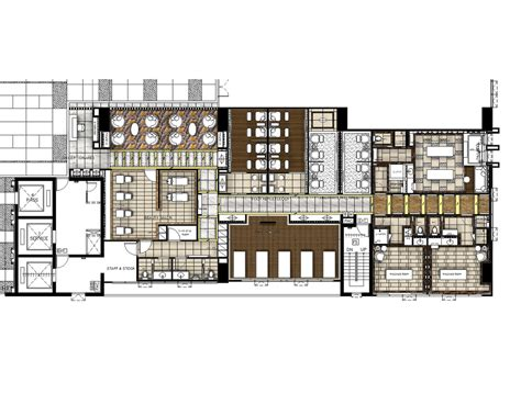 floor plan of a salon spa floor plan planos pinterest spa hotel floor