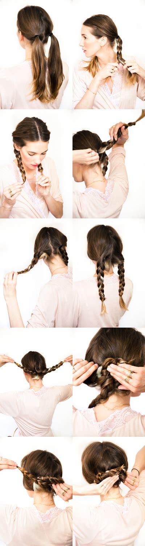 tutorial video wedding diy wedding hair pretzel braid she s beautiful