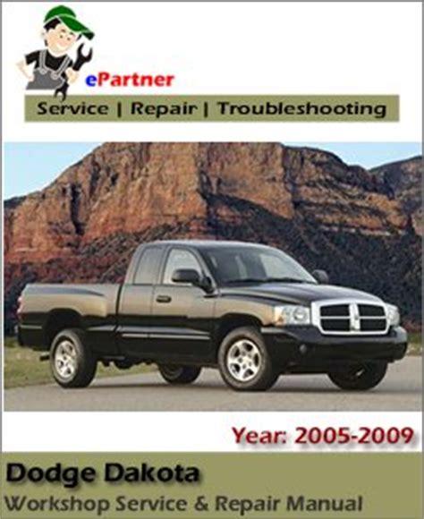 car repair manuals download 2005 dodge dakota engine control dodge dakota factory service repair manual 2005 2009 automotive service repair manual