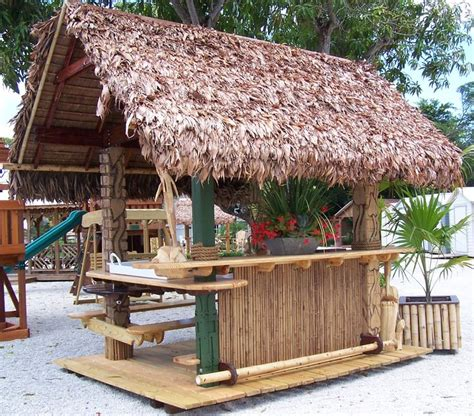 i d love a tiki bar in my backyard patio bars pinterest
