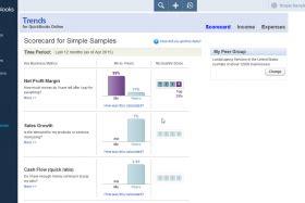 quickbooks tutorial overview the scorecard in quickbooks online tutorial